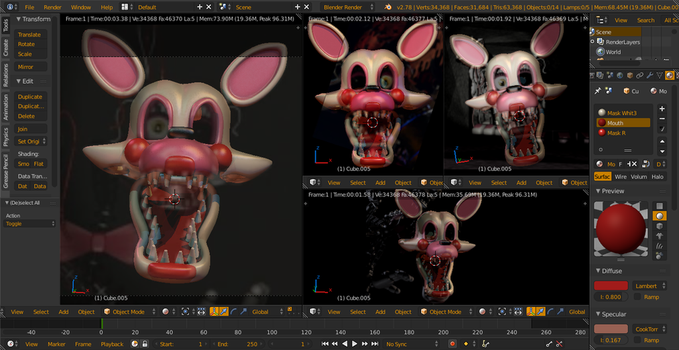 Mangle v4 WIP 1 by Spinofan10