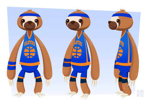 Sloth Model(final) by placitte2012