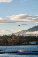 Waterplane is leaving Vancouver by FreSch85