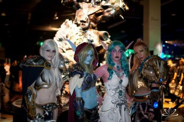 Ladies of Warcraft by Winged-warrior