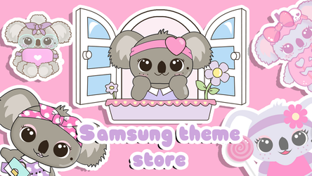 Koelhyn on Samsung theme store by LadyPinkilicious