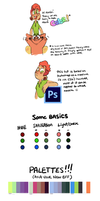 Color Tutorial (omg so long T^T) by withery