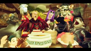 World of warcraft -Estos pandaren... by Tigry86