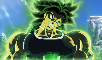 BROLY Dragon Ball Super The Movie 2018 by AlejandroDBS