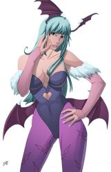 Morrigan colour comission by ginmau