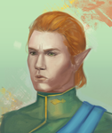 Inquisitor Lavellan by taupeglow