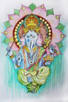 Ganesha by Duisternis21