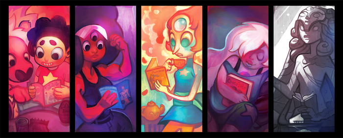 Steven Universe Bookmarks by Rockman0