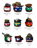 Polandball - WWI uniforms by KaliningradGeneral