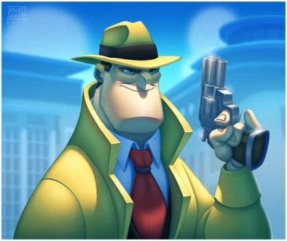 Dick Tracy by Javas