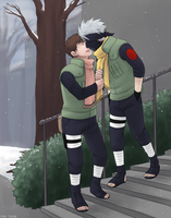 Cold weather kisses by medli