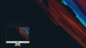 Stroke wallpaper by i5yal