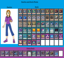 Duelist and Deck - Brianna Jackson by MarioFanProductions