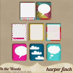 In the Woods Journal Cards by Harper Finch by harperfinch
