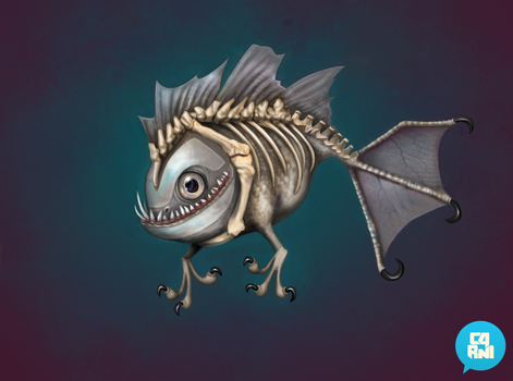 Bone Fishy by carny87