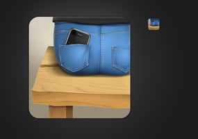 For iphone application icon by Ava1219