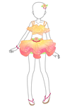 Tropical Outfit Adopt ~NOW 50% OFF~ by Luckyshortyboo