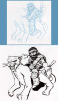 Epic mount - sort of -inked- by BrianManning