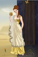 Tyche, Goddess of Fortune and Chance by TFfan234