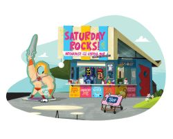 Saturday Rocks! Breakfast and Cereal Bar by TheBeastIsBack