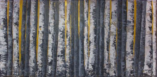 Birch Forest No.2 by Sarehlisa