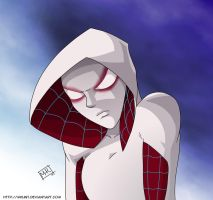 Spider Gwen by mhunt
