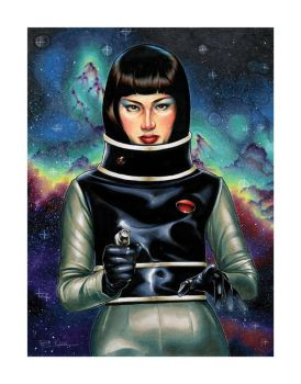 Miss Namikawa Giclee For Sale! by RichardCox