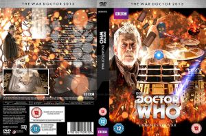 Doctor Who Engines of War Custom DVD Cover by GrantBattersby