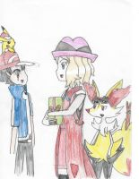 Amour- Serena's gift from Ash. by Pikafan09