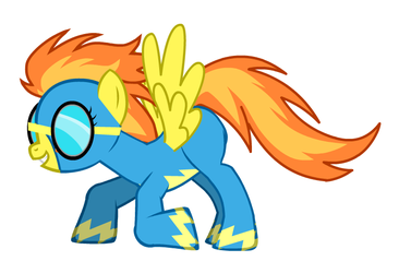 Spitfire - The Captain of All Pegasi by tetrisman64