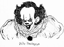Pennywise the dancing clown by mike-phantogram