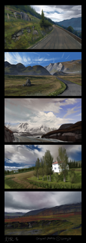 Landscape Studies 2 by Kiarya