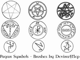 Pagan Symbols Brushes 7.0 by DeviantNep