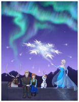 Frozen - The Sky's Awake by Lucy--C
