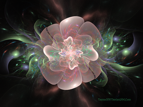 Spectral Flower by desmo100
