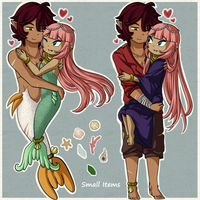 Joining Bands -Siren Marriage- by Icy-Snowflakes