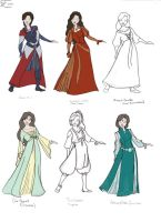 Narnia-Costume Designs III by CaribbeanMouse