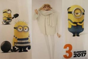 Despicable Me 3 by Minionkevin