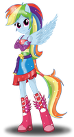 Rainbow Dash by DeannaPhantom13
