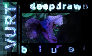 deepdrawn blue shattered by TheatreAyoo
