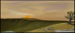 Background Practice by NorthernMyth