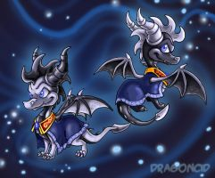 The Twin Princes by DragonCid