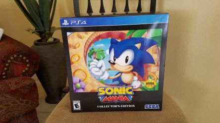 Sonic Mania Collector's Edition PS4 Box by Marco-the-Scorpion
