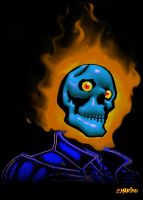 GHOSTRIDER PENANCE STARE MARVEL COMICS by CORY-MARINO