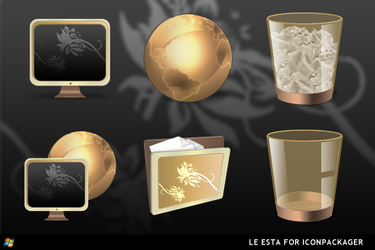 Le Esta For IconPackager by ipholio