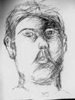 Portrait in pen by ArtisticEric