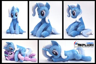 Trixic plush by nekokevin