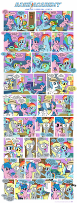 Dash Academy Chapter 7 - Free Fall #6 by SorcerusHorserus