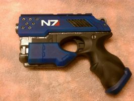 Blue N7 Nerf Scout by relasine