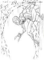 Spider-man Warm Up Sketch by OuthouseCartoons